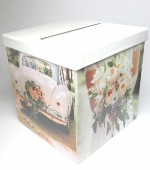 "Kartenbox Briefbox ""Polaroid"" multicolor Hochzeit"
